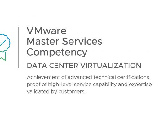 Achieve One Attains VmWare Master Services Competency